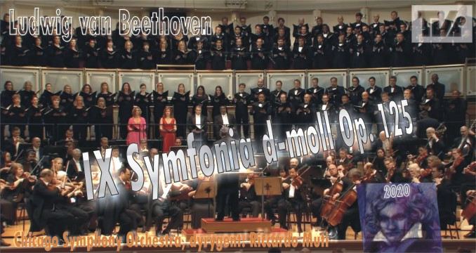 Ludwig van Beethoven Chicago Symphony Orchestra IX Symfonia d-moll Op. 125 w TVi