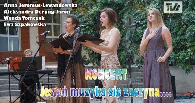 """KONCERT """"Jesień muzyką się zaczyna..."""""""
