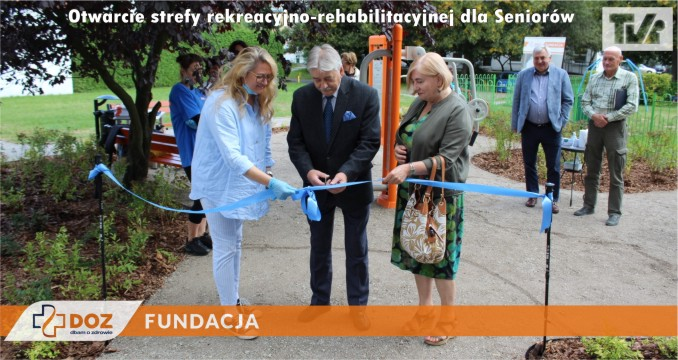 Otwarcie drugiej strefy rekreacyjno-rehabilitacyjnej dla Seniorów