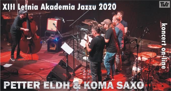 PETTER ELDH & KOMA SAXO - koncert on-line