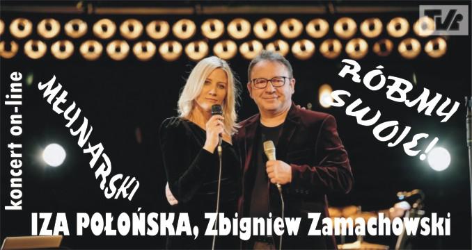 Koncert Izy Połońskiej i Zbigniewa Zamachowskiego w TVi